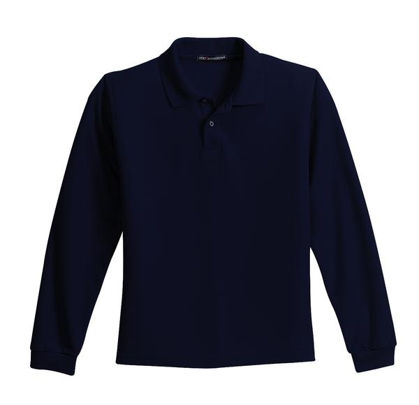Long Sleeve Polo with ISI Logo
