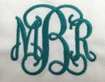 Engraved Monogram