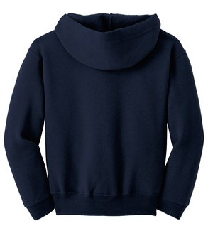 Hooded full-zip sweatshirt with ISI logo