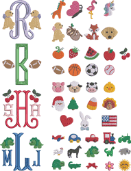 Monogram Board - Add-on Images