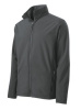 Men's soft shell jacket with embroidered logo